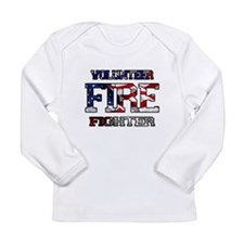 Volunteer Fire Fighter Long Sleeve Infant T-Shirt