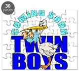 Twin boys maternity Puzzle
