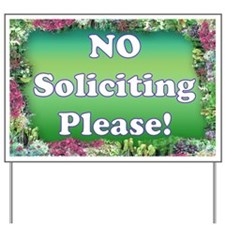 No Soliciting Yard Sign (2)