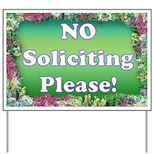 No Soliciting Yard Sign (2)