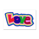 Love In Color Car Magnet 20 x 12
