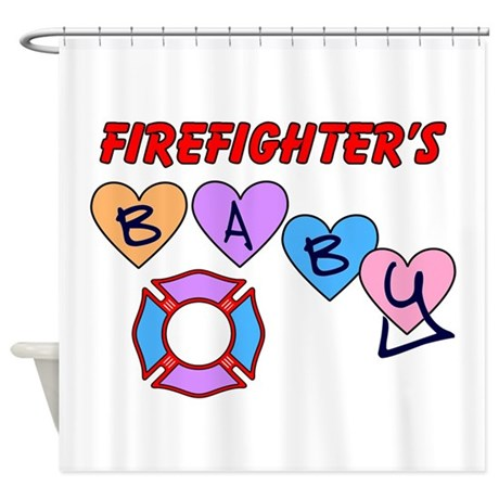 Http Www Cafepress Com Firefighters Baby Shower Curtain 634788024