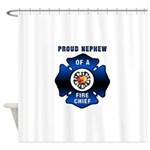 Fire Chief's Nephew Shower Curtain
