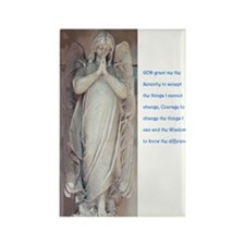 Serenity Prayer Rectangle Magnet (100 pack)