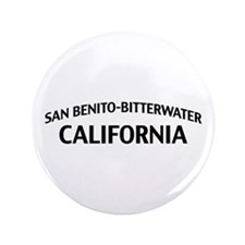 "San Benito-Bitterwater California 3.5"" Button"