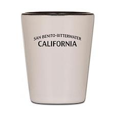 San Benito-Bitterwater California Shot Glass