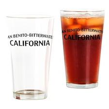 San Benito-Bitterwater California Drinking Glass