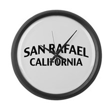San Rafael California Large Wall Clock