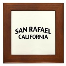 San Rafael California Framed Tile