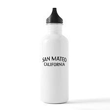 San Mateo California Water Bottle
