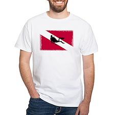 Scuba Diver & Flag Shirt