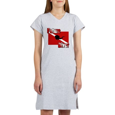 Future Diver Women's Nightshirt