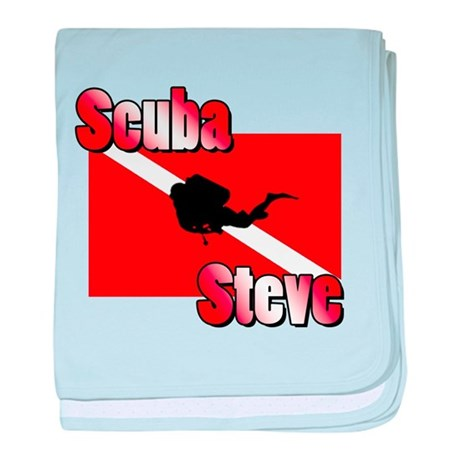 Scuba Steve baby blanket