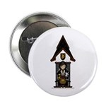"Medieval Knight on Horseback 2.25"" Button (10"