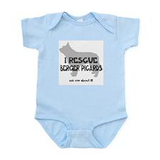 I RESCUE Berger Picards Infant Bodysuit