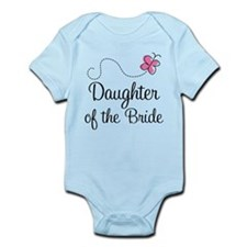 Daughter of the Bride Infant Bodysuit