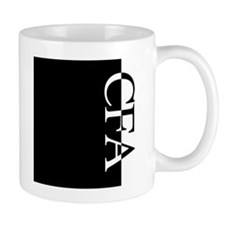 CFA Typography Coffee Mug