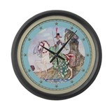 Kay Nielsen's Princess Minot Large Wall Clock