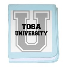 Tosa UNIVERSITY baby blanket