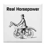 Real Horsepower Tile Coaster
