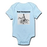 Real Horsepower Infant Bodysuit