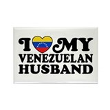 Venezuelan Husband Rectangle Magnet