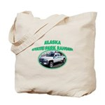 Alaska State Park Ranger Tote Bag