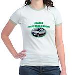 Alaska State Park Ranger Jr. Ringer T-Shirt