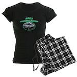 Alaska State Park Ranger Women's Dark Pajamas
