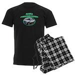 Alaska State Park Ranger Men's Dark Pajamas