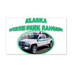 Alaska State Park Ranger 22x14 Wall Peel