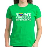 I Love My Venezuelan Boyfriend Tee