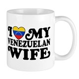 I Love My Venezuelan Wife Small Mug