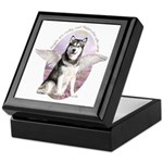 Malamute Angel Keepsake Box