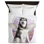 Malamute Angel Queen Duvet