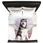 Malamute Angel King Duvet