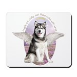 Malamute Angel Mousepad