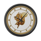 Squirrel Nutkin Large Wall Clock