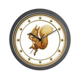 Squirrel Nutkin Wall Clock