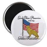 "Golden Retriever 2.25"" Magnet (100 pack)"