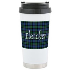 Tartan - Fletcher Ceramic Travel Mug