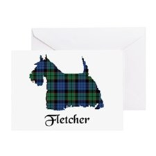 Terrier - Fletcher Greeting Card