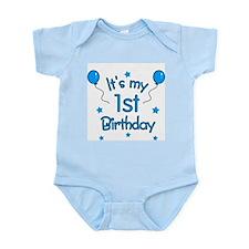 """1st Birthday""  Infant Creeper"