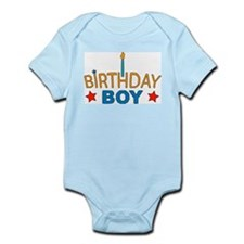 """Birthday Boy"" Infant Creeper"