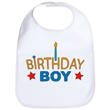 """Birthday Boy"" Baby Bib"