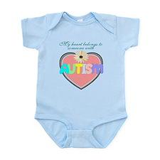 I love someone with autism 2 Infant Bodysuit