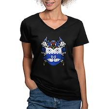 Ekaterina's Women's V-Neck Dark T-Shirt