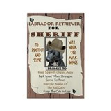 Funny Best friend labrador retriever lab Rectangle Magnet (10 pack)