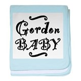 Gordon BABY baby blanket