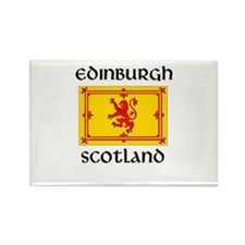 Cute Edinburgh Rectangle Magnet